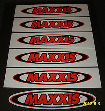 6 AUTHENTIC MAXXIS TYRES STICKERS / DECALS / TIRES / AUFKLEBER / STICKER