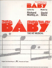 Baby The Hit Musical Sheet  Music by Richard Maltby Jr.