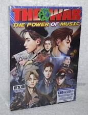 EXO Vol.4 Repackage THE WAR Power of Music Taiwan CD+8 Bookmarker (Korean ver.)