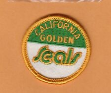 VINTAGE CALIFORNIA GOLDEN SEALS OLD LOGO 2 inch STITCHED PATCH UNSOLD STOCK