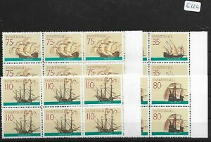 SMT, 1991, Portugal: ships, complete set in block of 6, MNH