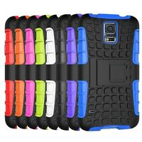 Hybrid Shockproof Rugged Rubber Hard Armor Cover for Samsung Galaxy S5 Case 9600