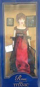 Franklin Mint Titanic Rose Vinyl Portrait Doll New in Original Box