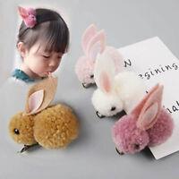 Cute Rabbit Hair Clip Baby Hair Clip Princess Barrette Girls Hair Accessories