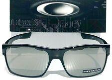 NEW* Oakley TWO FACE BLACK PRIZM Black Iridium semi mirror Sunglass 9189-37