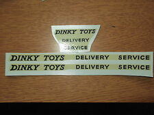 "Dinky Supertoys 982 Pullmore ""Dinky Toys Delivery Service""  Decals/Transfers#2"