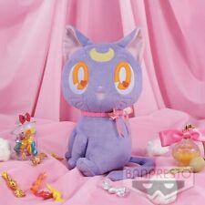 Sailor Moon PURPLE LUNA CAT Plush Ribbon Style Banpresto