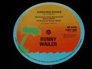 "Bunny Wailer : Dancing Shoes / Walk The Proud Land  UK Island 1981 12""   EX"