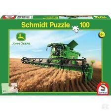 Schmidt John Deere S690 Jigsaw Puzzle For Children 100 Pieces Toy Gift