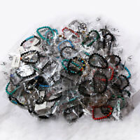 30 Pcs Lot Wholesale Bracelets Mixed Natural Seemless Bead Boho Chic Bangle Lot