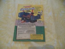 GRANDSTAND CONVERTORS  DELTARIAN TRACKER   ORIGINAL MAGAZINE ADVERT