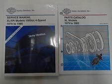 1979 1980 1981 Harley Davidson XLH XL XR 1000 Models Service Shop Manual Set