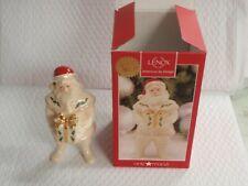 "Lenox Santa'S Holiday Gift Figurine 2015 7"" American By Design Macys Santa"