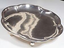 antike Art Deco Fuss Schale 835 Silber Handarbeit um 1920 ca. 1192 Gramm