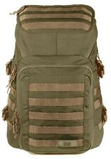 Mission Critical Mens Military Tactical Backpack Black / Coyote For Dads Fathers