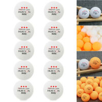 10pcs Professional Ping Pong Table Tennis Balls Training Competition Sports Kit