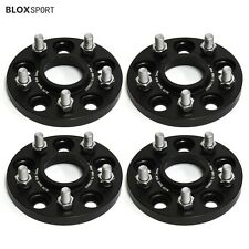 4Pcs 15mm Ford Focus Hub Centric 5 Lug Wheel Spacer Adapters 5x108 to 5x114.3