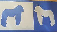 Schablonen 308 Gorillas Mylarfolie Shabby Möbel Wandtattoos Wandbilder Airbrush