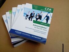 Kaplan Schweser Notes for 2017 CFA Level 1 Exams (Both June and Dec Exams)