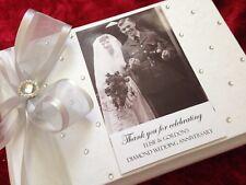 Diamond Wedding Gift Customised 60th Anniversary Guest Book Album