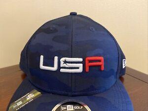 2020 2021 USA Ryder Cup Saturday Team Hat Navy Camo adjustable Snapback NEW