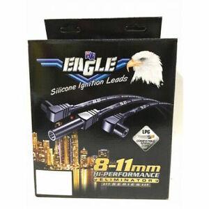 EAGLE E9855BK IGNITION LEADS BLACK FOR CHEV BIG BLOCK AROUND R/C 9O° CAP x 145Â