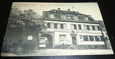 Hotel Restaurant Zum Fürstenhof Büdingen Feldpost AK Fahrrad Postbeamter RAR