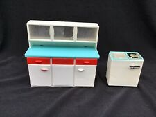 More details for rare dolls house triang spot on hoovermatic twin-tub + kitchen dresser.