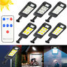 Solar LED Waterproof Wall Light Motion Sensor Outdoor Garden Yard Security Lamp