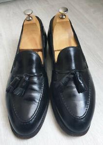 Alden mocassin pampilles taille 43 9 cuir noir Tassel loafers