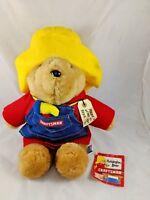 "Paddington Bear Craftsman Plush 16"" Sears Kids Gift"