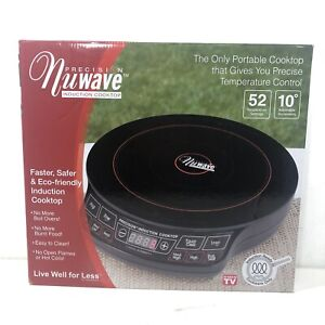 NuWave Precision Pro Induction Cooktop Model 30121 Portable Fast Cooking Burner