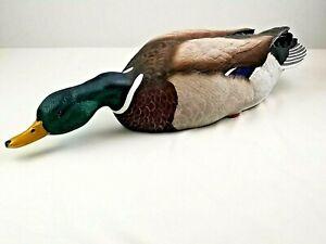 Wild Wings Swan Lake - Mallard Duck Large Decoy by Sam Nottleman #1141/2900