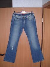 Superstar Model Alessia Damen Jeans Hose Baumwolle Bootcut blau W31 L32 NEU