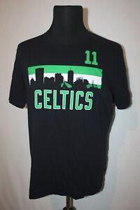 '47 Boston Celtics Kyrie Irving #11 NBA Black T-shirt Sz XL Skyline