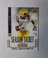 2015 Panini Odell Beckham Jr Season Ticket Rookie Card #78