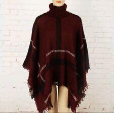 NEW, Fashion Sweater Poncho Multi One Size