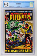Defenders #2 - Marvel 1972 CGC 9.0 Silver Surfer Appearance.