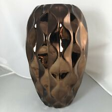Bronze Textured Large Vase