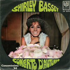 SHIRLEY BASSEY MY WAY OF LIFE CONCERTO D'AUTUNNO EX M-