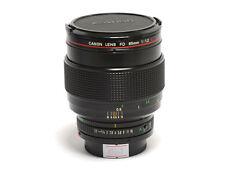Canon FD 85mm F/1.2 L Lens *EX+*