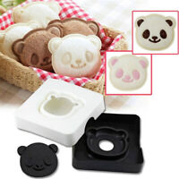 Cute Panda Bear Sandwich Pocket Maker Bread Toast Mold Mould Cutter Mould G