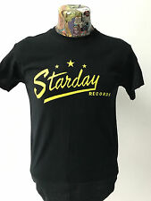 ***NEW*** 'STARDAY RECORDS' BLACK T SHIRT ROCKABILLY HILLBILLY 40s/50s FREEPOST