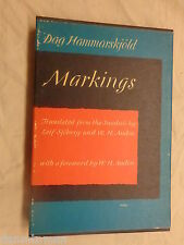 Markings by Dag Hammarskjold (1964, Hardcover)