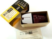 Vintage Guild Mini-Lite Slide Viewer Parabolic Reflector + Original box & manual