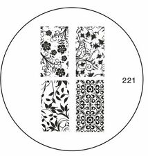 MoYou Stamping Nail Art Image Plate 221 DIY Flower Design Manicure