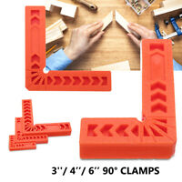 Woodworking L Type DIY Hand Tools Angle/Corner/Miter Clamp Ruler Fixer Clip