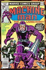 Machine Man #1 (Marvel,1978) Jack Kirby/Mike Royer!! HIGH GRADE!!! (NM)