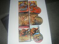 3 Game Lot Cabela's Deer Hunt + Trophy Bucks + Dangerous Hunts PlayStation PS2