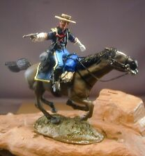 54mm Resin 7th Cavalry Mounted Officer #2 Little Big Horn Kit Custer  NEW!